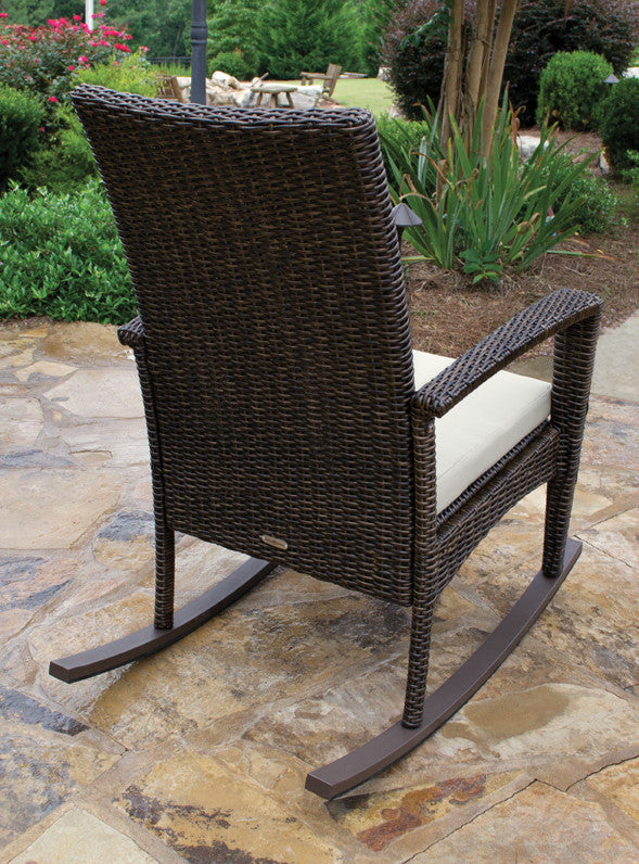 Bayview All Weather Wicker Rocking Chair   Tortuga Outdoor