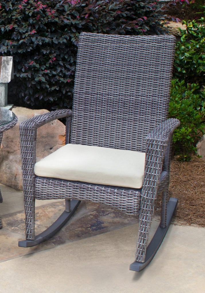 ... Outdoor; Bayview All Weather Wicker Rocking Chair ...