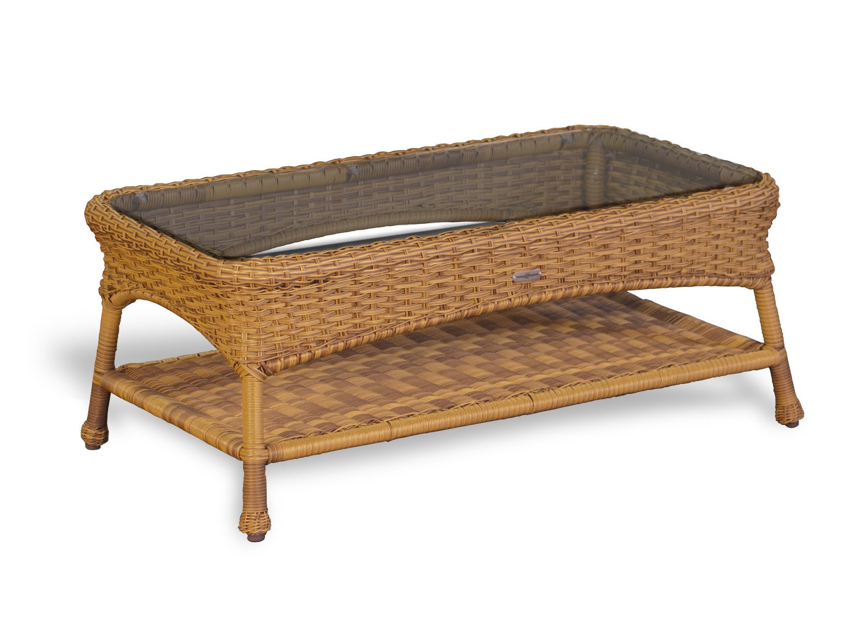 The Lexington All Weather Wicker Coffee Table Tortuga Outdoor