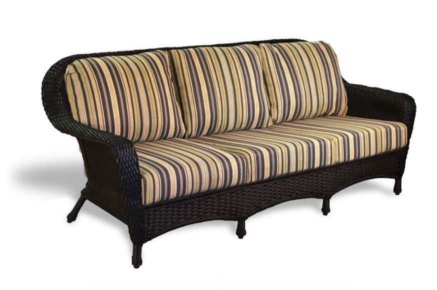 Lexington All Weather Wicker Sofa | Tortuga Outdoor ...