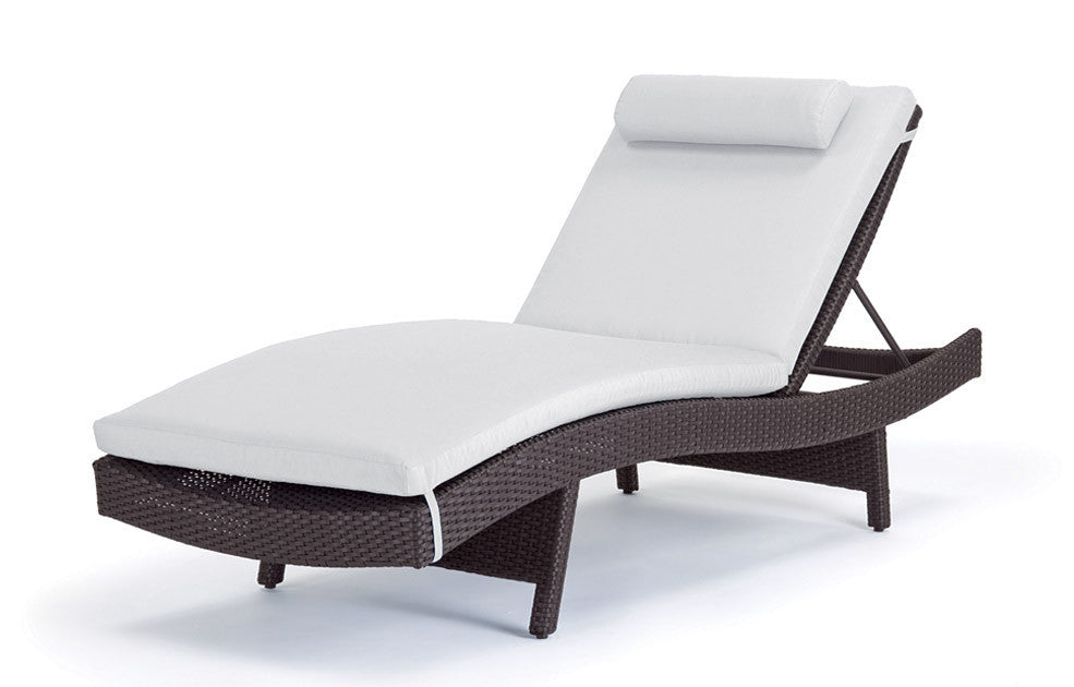 ... Dijon Curved Single Chaise Lounge - Caluco ...  sc 1 st  Home u0026 Patio Living : curved chaise lounge - Sectionals, Sofas & Couches