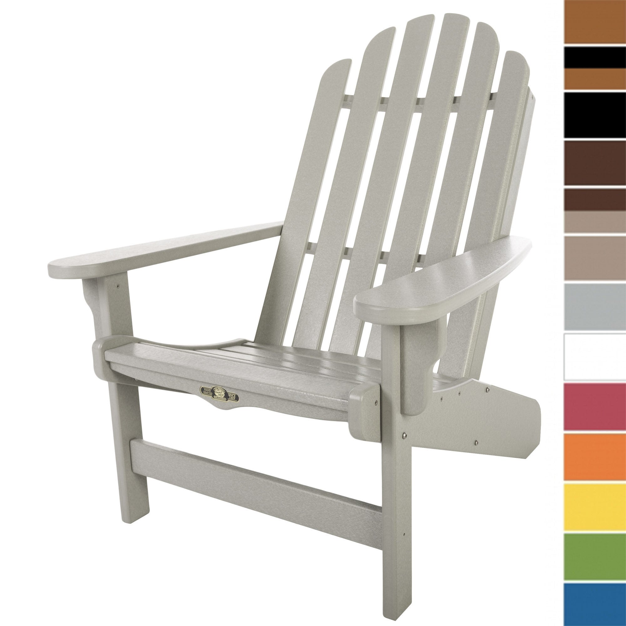 ... Durawood Essential Adirondack Chair - Pawleys Island ...  sc 1 st  Home u0026 Patio Living & Durawood Essential Adirondack Chair - Pawleys Island - Home u0026 Patio ...