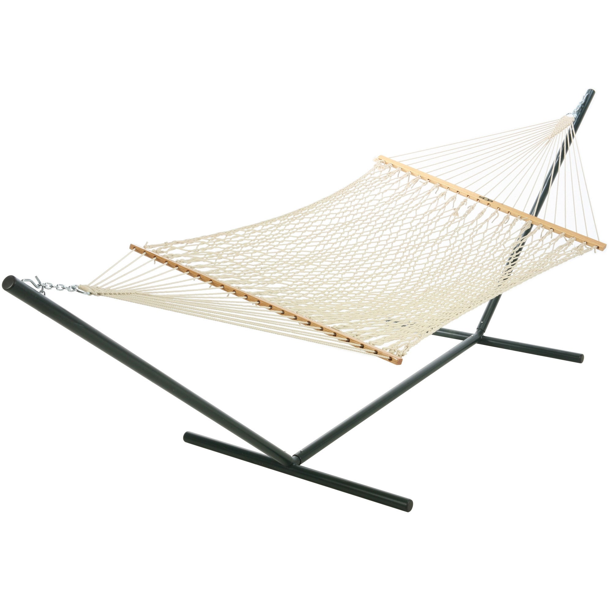 cotton pillow product island hammock ft master and stand hayneedle rope with wood bay pad cfm