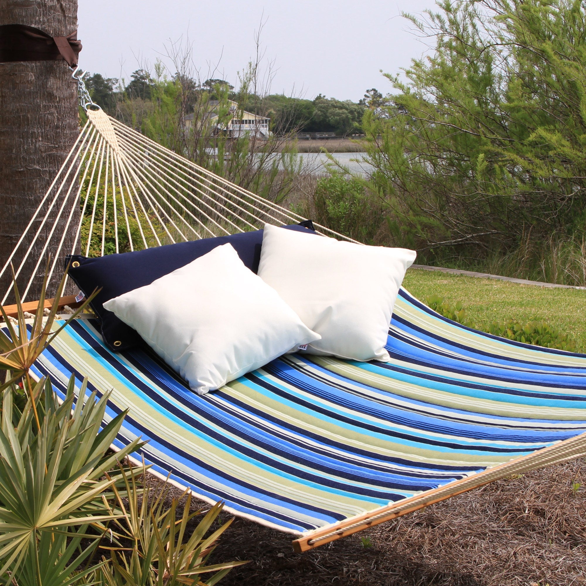hammock selection island quick rope hammocks of patio view sale and store tan pawleys great umbrella large swings duracord