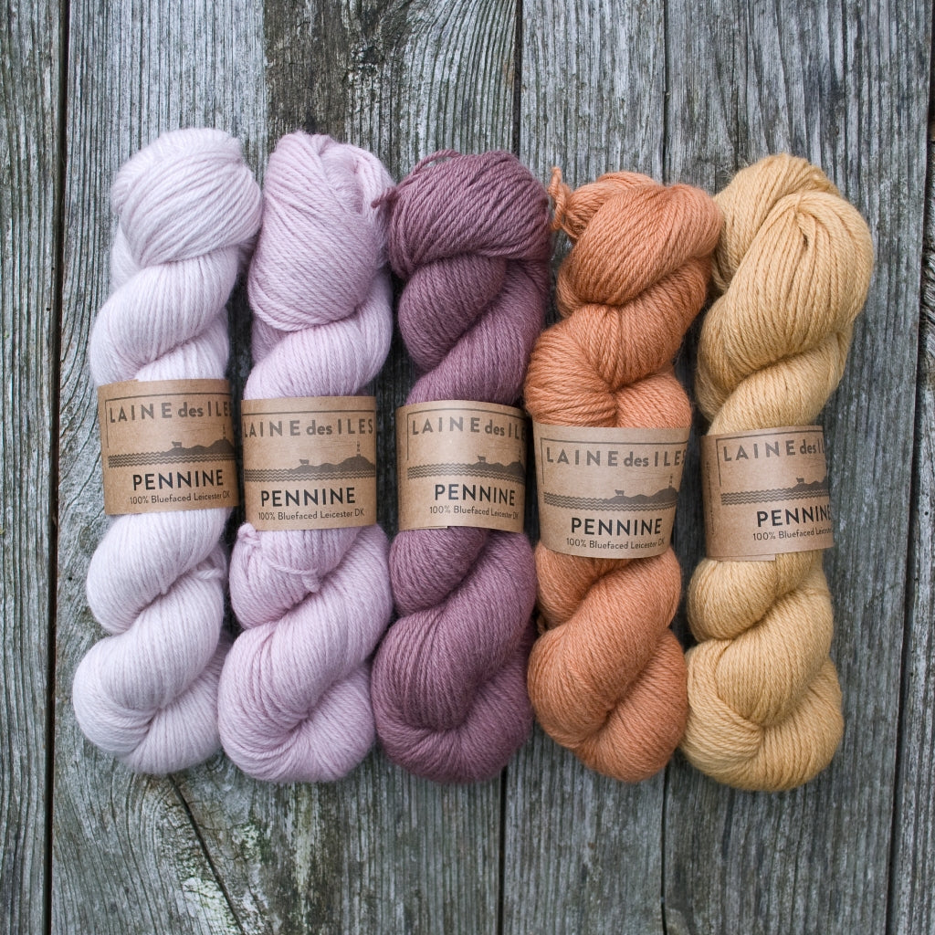 Pennine - our first own-brand yarn!