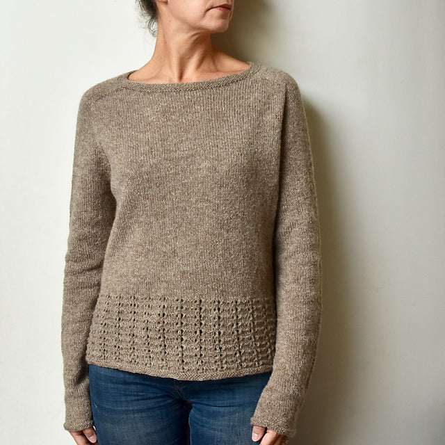 ....Wanderlust Pull de Sandrine Costa - Kit..Wanderlust Sweater by Sandrine Costa - Kit....
