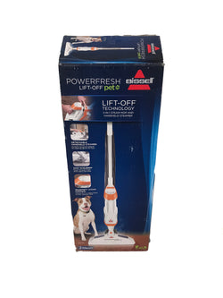 BISSELL PowerFresh Lift-Off Pet Steam Mop- (1544A) - 24OurStore