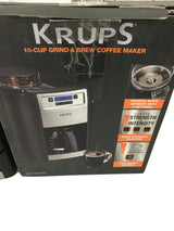 KRUPS Automatic Coffee Maker w/Burr Grinder- KM785D50 - Wilkerson Trading