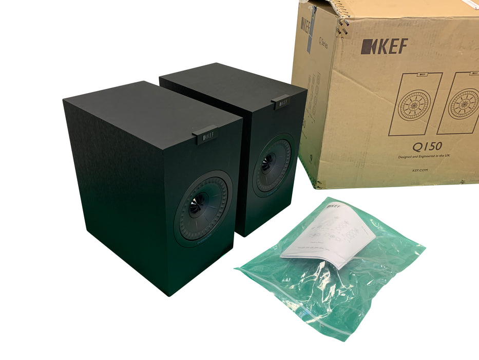 KEF Q150B Bookshelf Speakers- Pair - Wilkerson Trading