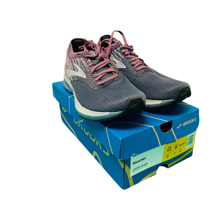 Brooks Womens Ricochet Running Shoe- 11 - Wilkerson Trading