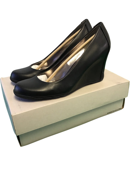 Kenneth Cole REACTION Women's Did U Tell Wedge Pump - Wilkerson Trading
