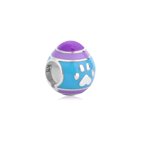 Happy Easter Enamel Bella & Beau Bead