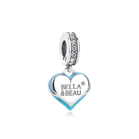 Signature Heart Bella & Beau Charm