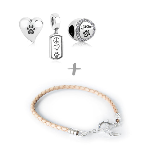 """Rescued & Loved"" Starter Collection (Bracelet)"
