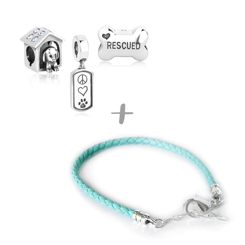 """Who Rescued Who?"" Starter Collection (Bracelet)"