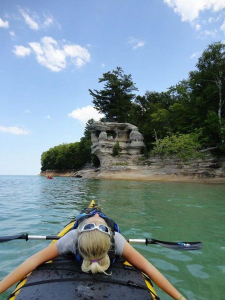 Pictured Rocks Paddle and Hike Kayak Tour