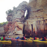 Early Bird Special Sale 30% Off! Pictured Rocks Paddlers Choice Kayak Tour!!