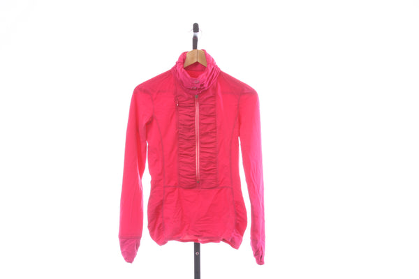 Women's Brooks Synthetic 1/2 Zip Pullover Shirt - Size Small