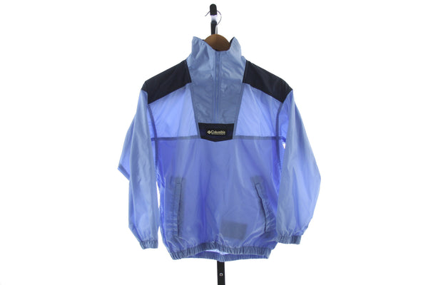 Kid's Columbia 1/4 Zip Windbreaker - Size 10/12
