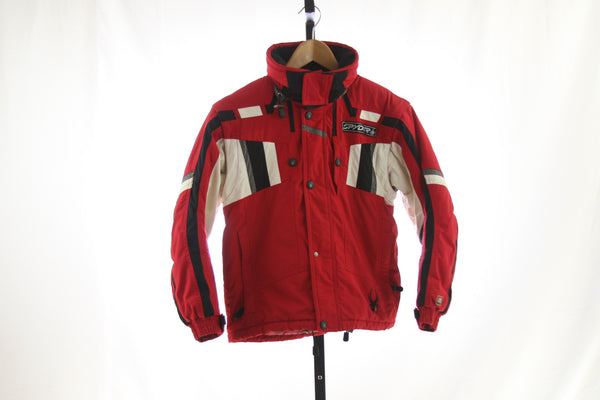 Kid's Spyder Insulated Ski Coat - Size 12