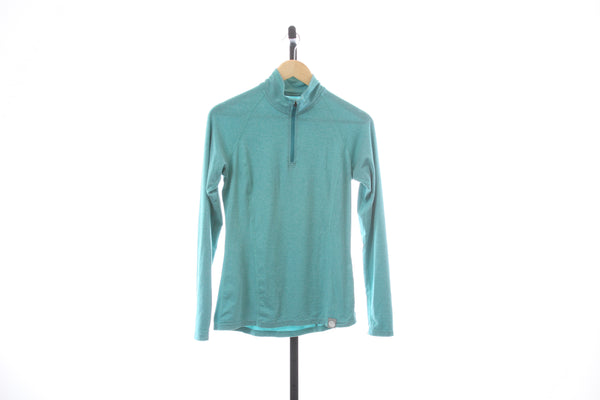 Women's REI 1/4 Zip Pullover Long Sleeve Shirt - Size X-Small