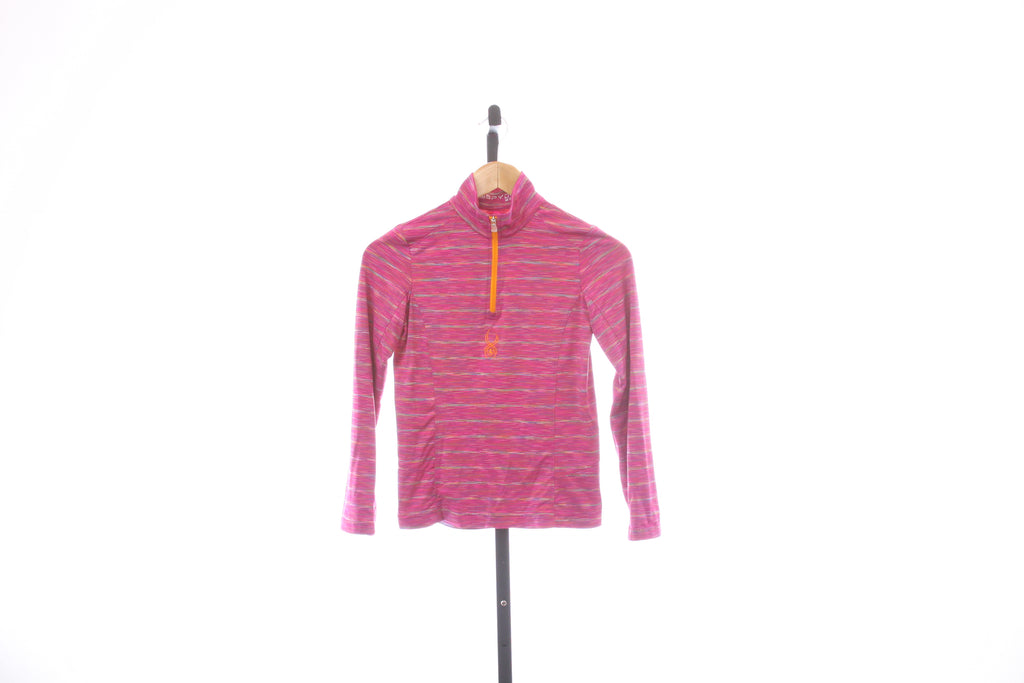 Kid's Spyder 1/4 Zip Baselayer - Size Medium