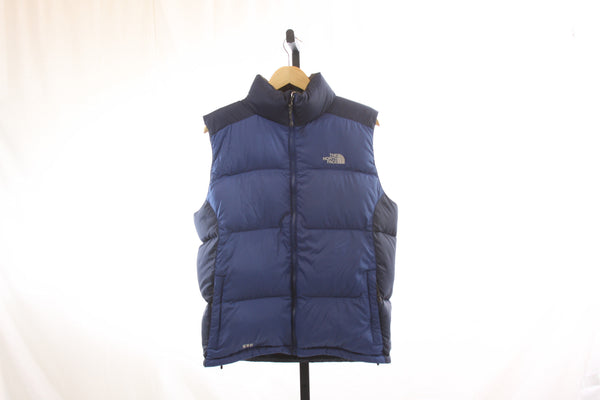 Men's The North Face 550 Fill Goose Down Puff Vest - Size Medium