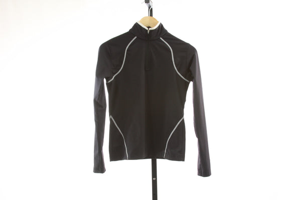 Women's Spyder 1/4 Zip Baselayer - Size 4