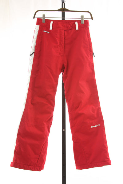 Kid's Spyder Insulated Ski Pants - Size 12