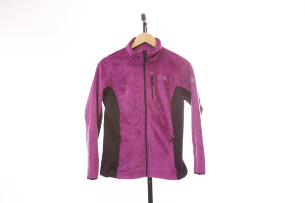 Women's Mountain Hardwear Full Zip Soft Fleece Jacket - Size X-Small