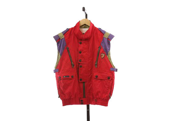 Women's Vintage Ski Vest - Size Medium