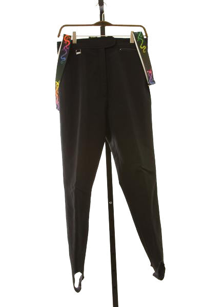 Women's Vintage Stretch Ski Pants - Size 12