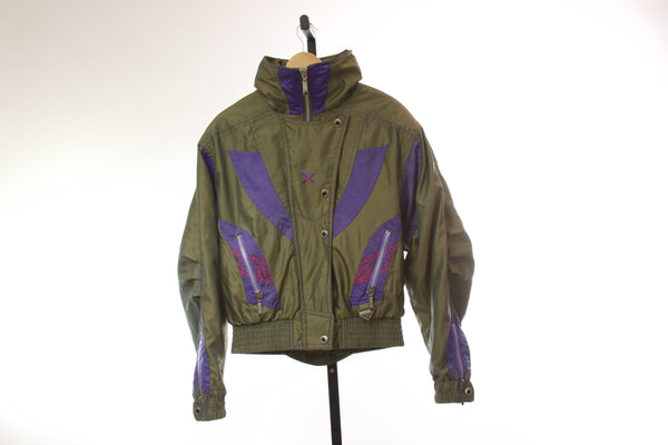 Women's Vintage Spyder Insulated Ski Jacket - Size 14