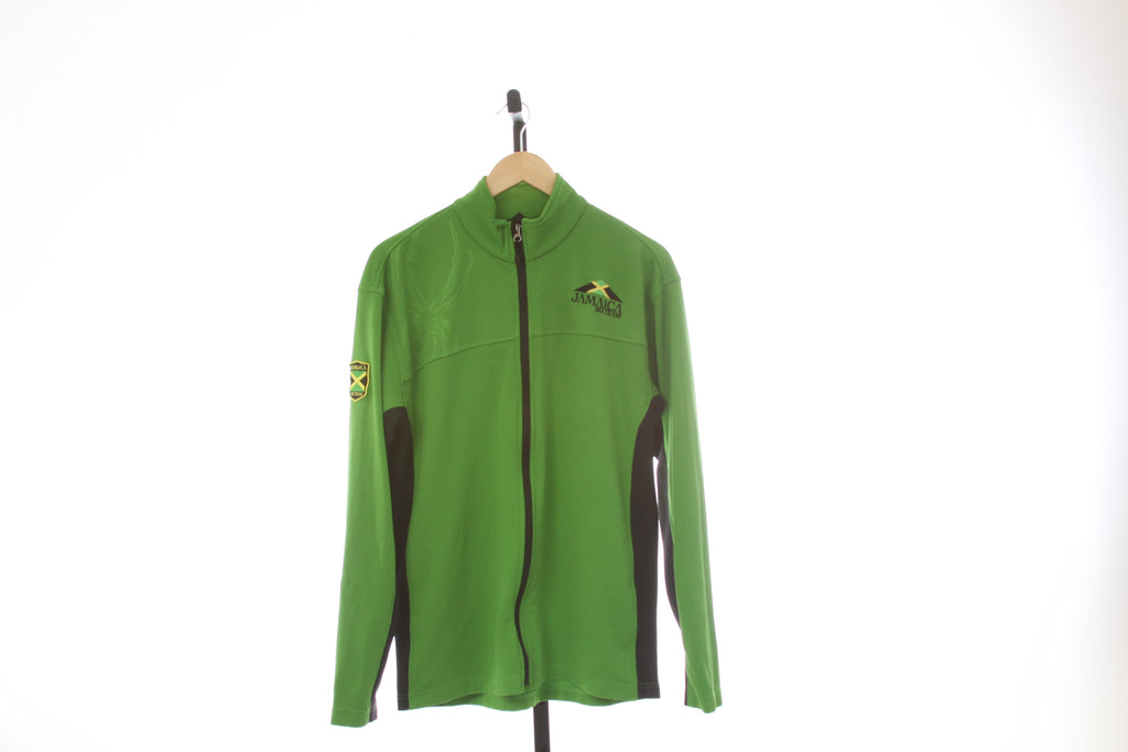 Men's Spyder Full Zip Technical Long Sleeve Shirt - Size Large