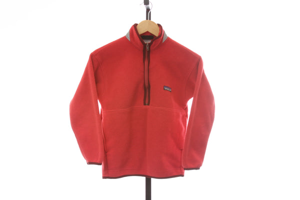 Kid's Patagonia 1/2 Zip Synchilla Fleece Pullover - Size Medium