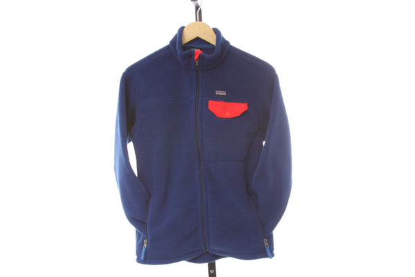 Kid's Patagonia Synchilla Heavy Fleece Full Zip Jacket - Size X-Large (14)