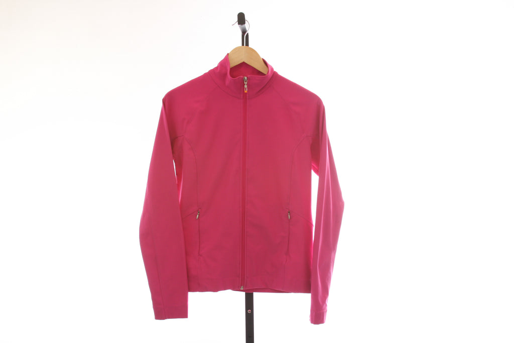 Women's Lucy Synthetic Heavy Full Zip Shirt - Size Medium