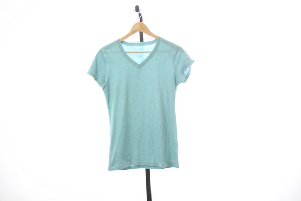 Women's Eddie Bauer V-Neck Technical Tee - Size Small