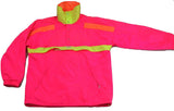 womens CB sports fluorescent pullover jacket