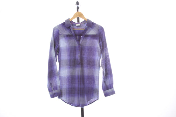 Women's BRAND NEW Columbia Pullover Flannel Shirt - Size X-Small