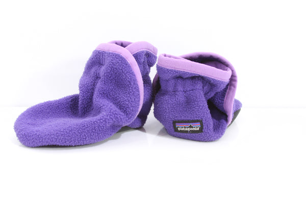 Kid's Patagonia Synchilla Booties - Size 6-12 Months