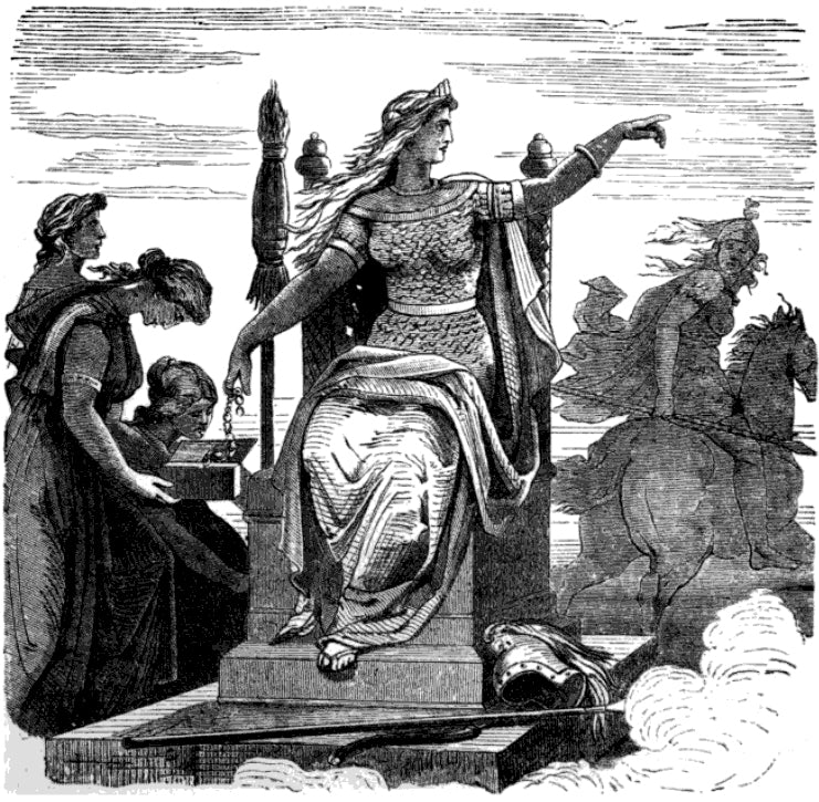 Frigg – The Queen of the Æsir Gods