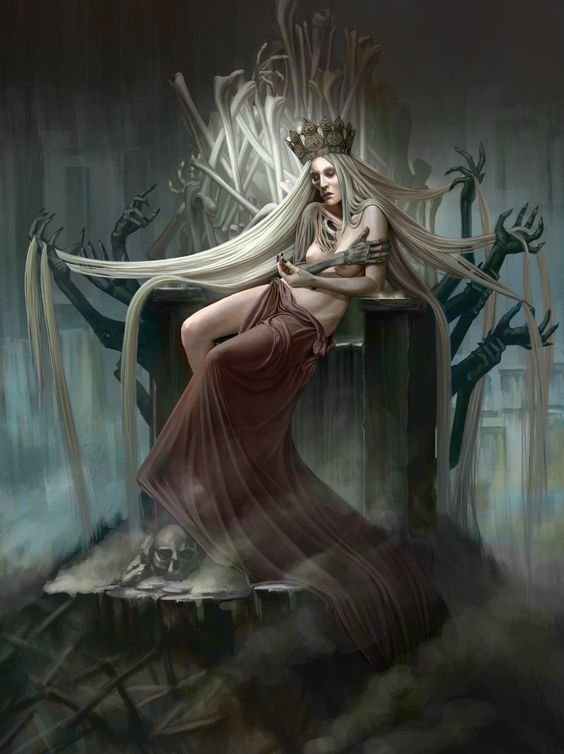 Hel – The Goddess of the Underworld