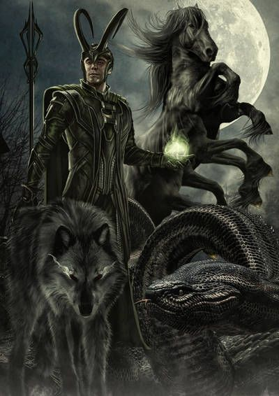 Loki – the God of Trickery and Mischief