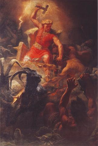 Thor and Norse Creatures