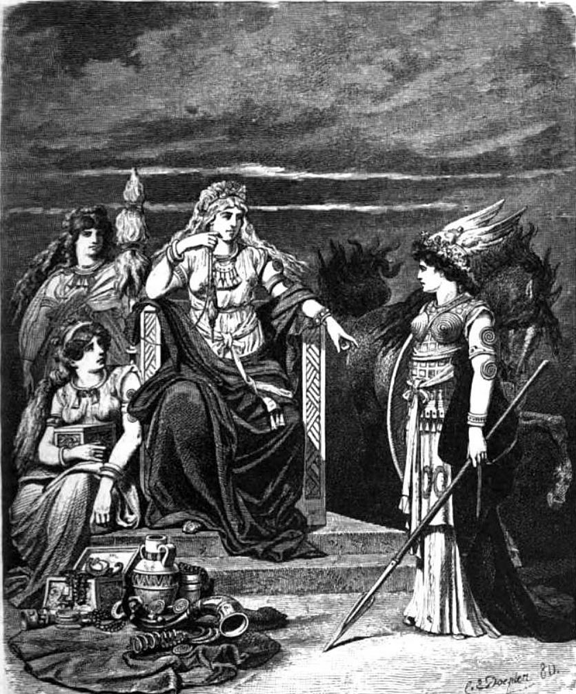 Frigg and Her Handmaidens
