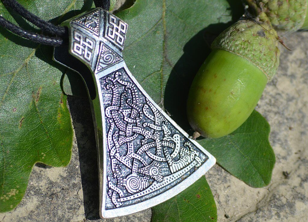 Viking Axe Crafted in Mammen Style