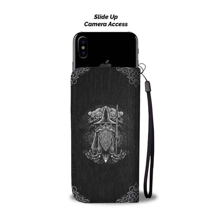 Viking God Odin Wallet Case