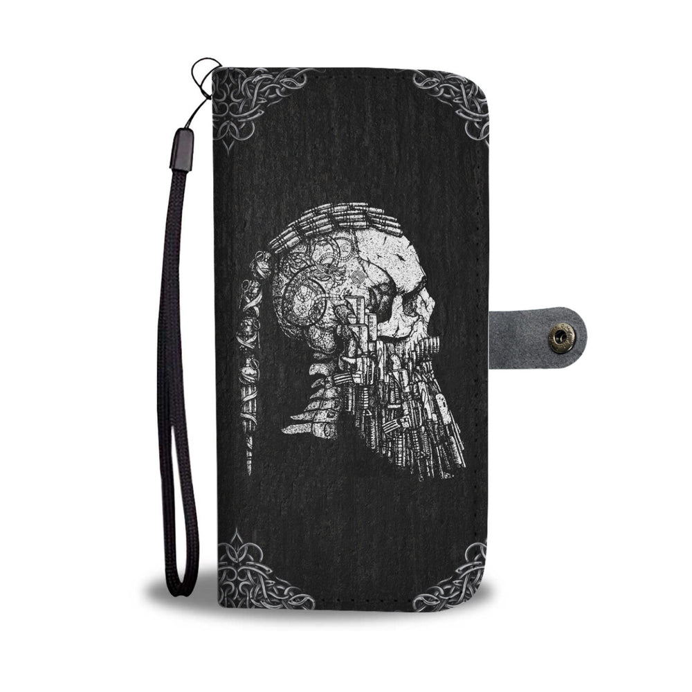 Ragnar's Head Wallet Case - VikingsBrand