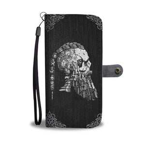 Ragnar's Head Wallet Case
